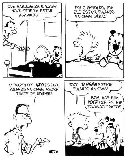 Tirinhas Calvin e Haroldo 3 #CalvineHaroldo #CalvineHobbes #Tirinhas