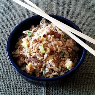Bacon Fried Rice: Foodies, Batch Today, Absolutely Brilliant, Dinners Recipe, Rice Bacon, Pantries Dreams, Marty Steaks, Bacon Fried, Fried Rice