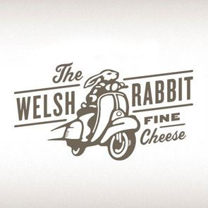 Mr Cup pinterest selection www.mr-cup.com, The Welsh Rabbit, Fine Cheese, Moped, Scooter, Bunny, Illustration. Type
