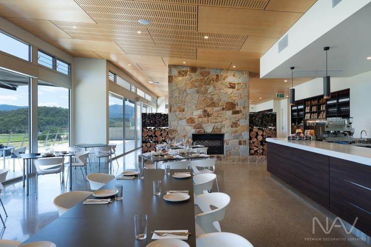 Restaurant Area. Navurban™ Windsor. Designer: M G Design & Building Pty Ltd Photography: Matthew Mallet Photography Builder: Bright Alpine Builders Pty Ltd Joinery: Wilko Cabinets