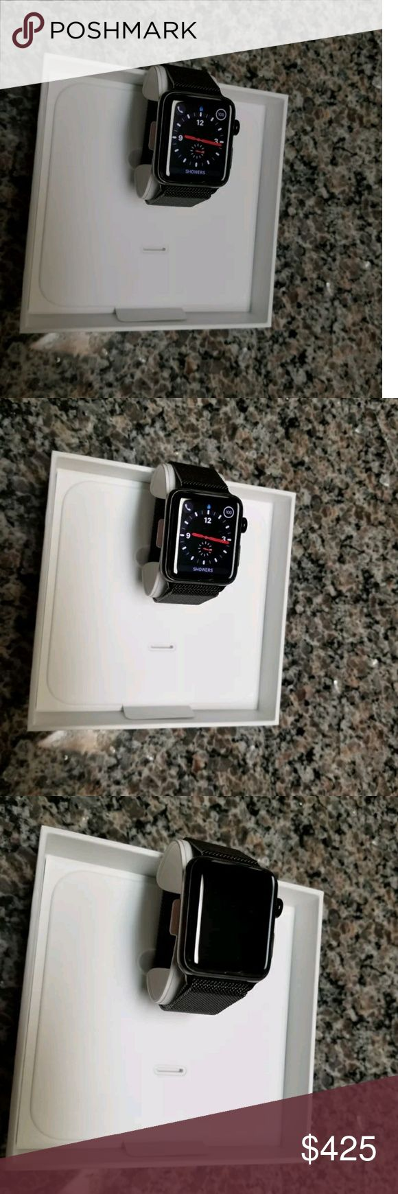 Apple Watch Series 3 Stainless Steel Apple Watch Series 3 (GPS) requires an iPhone 5s or later with iOS 11 or later. Apple Watch Series 3 (GPS + Cellular) requires an iPhone 6 or later with iOS 11 or later. Apple Watch and iPhone service provider must be the same. Cellular is not available with all service providers. Not all service providers support enterprise accounts. Check with your employer and service provider. Some legacy plans may not be compatible. Prepaid plans are not supported…
