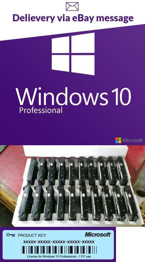 Software 18793: Microsoft Windows 10 Pro Professional