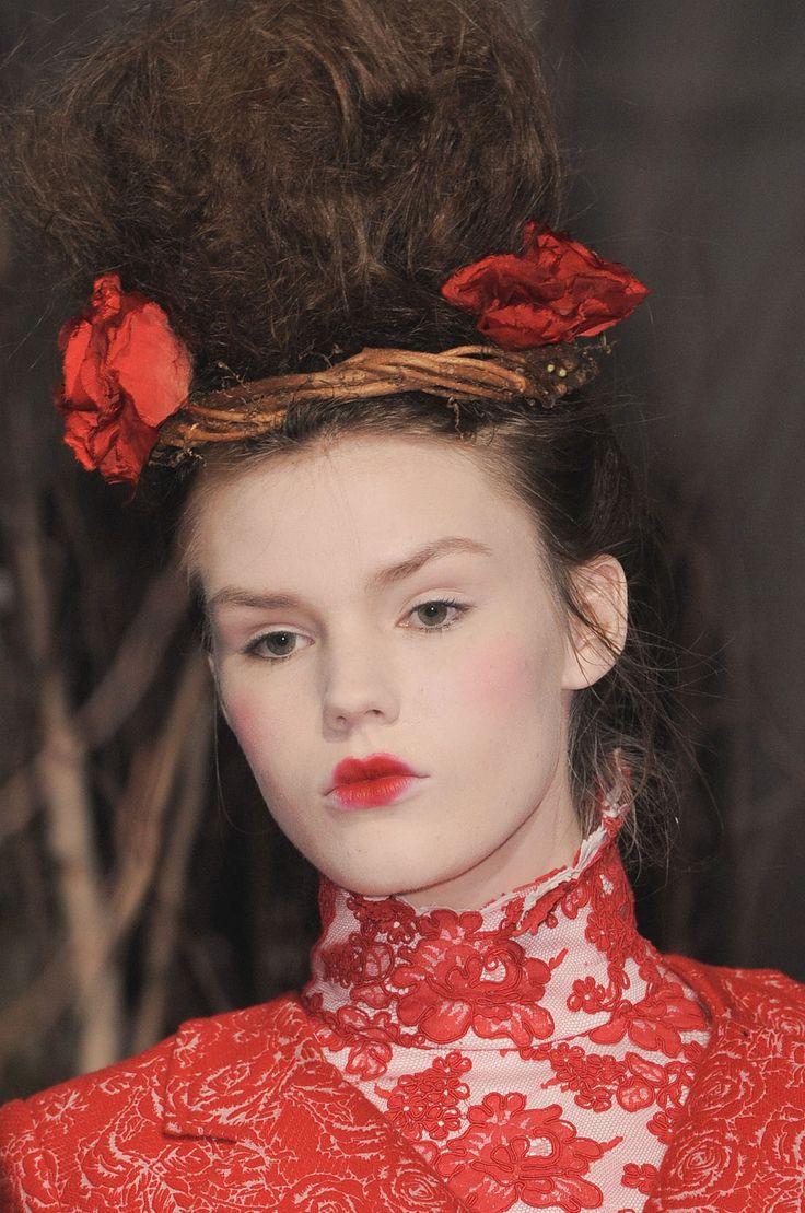 Thom Browne FW 13 Women's Makeup
