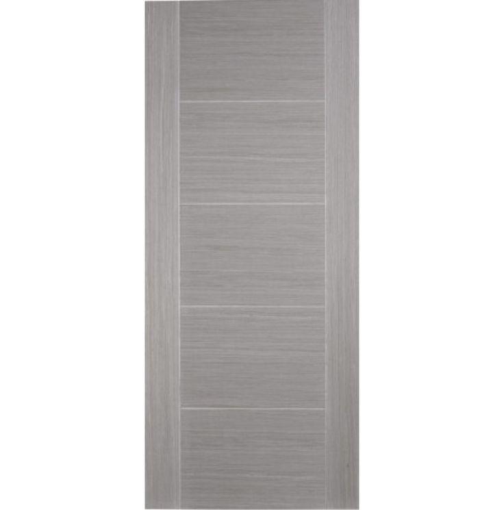 Contemporary 6006 Light Grey Fire Door