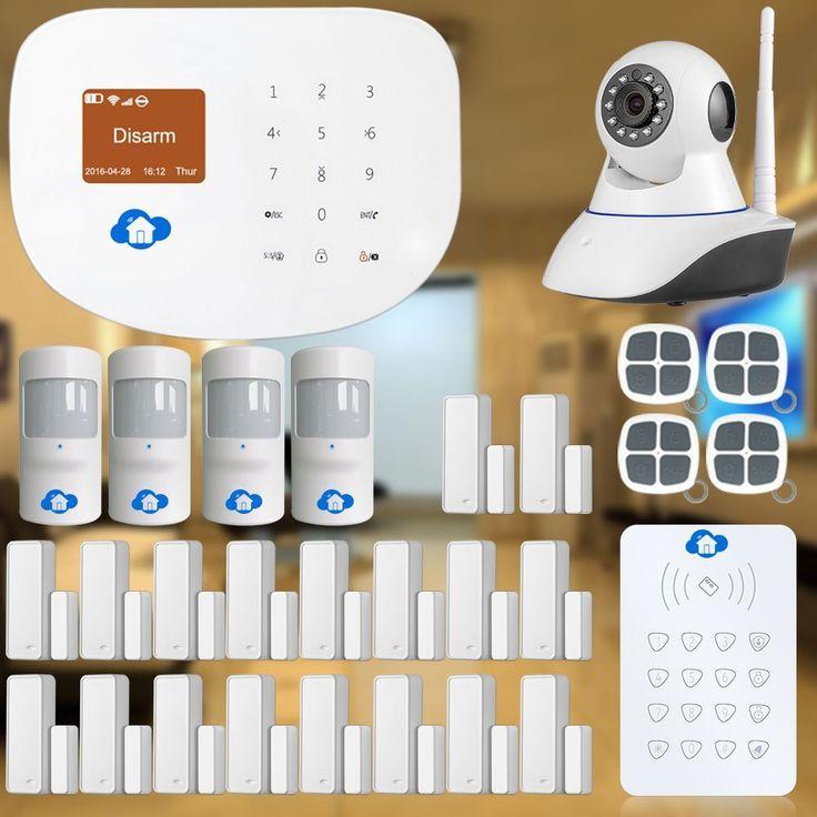 Etiger Etiger WIFI/GSM Interder Alarm System for Home Security+IP camera CCTV Smart Home