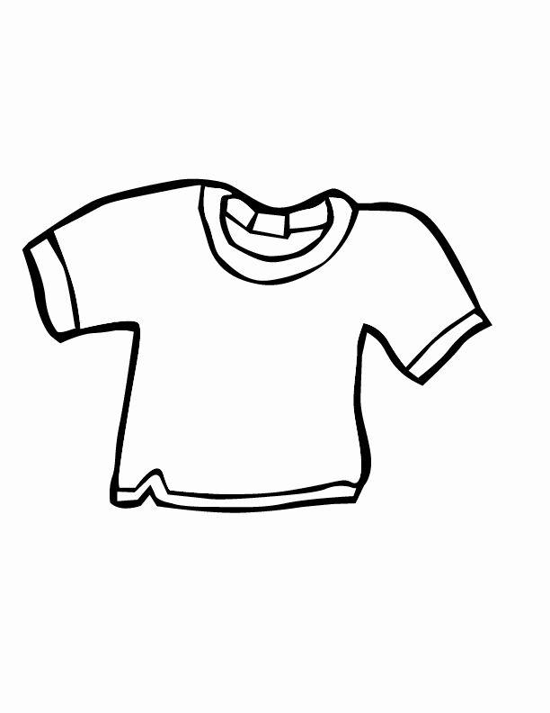 T Shirt Coloring Page Beautiful T Shirt Coloring Page Coloring Home Coloring Pages Cool Coloring Pages Bear Coloring Pages