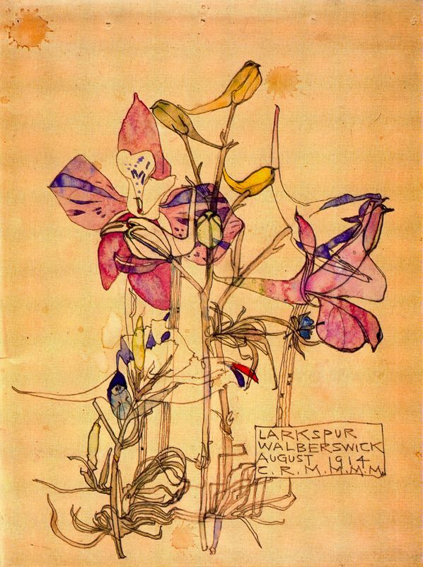 CAX33FJG Charles Rennie Mackintosh