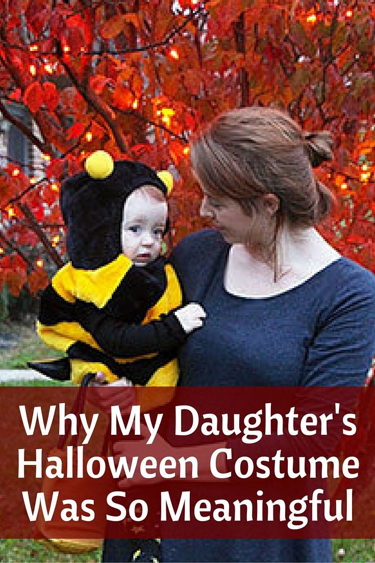 why my daughters halloween costume was so meaningful - Halloween Costumes For Parents And Baby