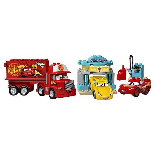 """Site d'entreprise Toys""""R""""Us - LEGO DUPLO Cars Disney Pixar Le café de Flo 10846"""
