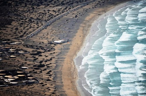 Famara beach, Lanzarote, Canary Islands