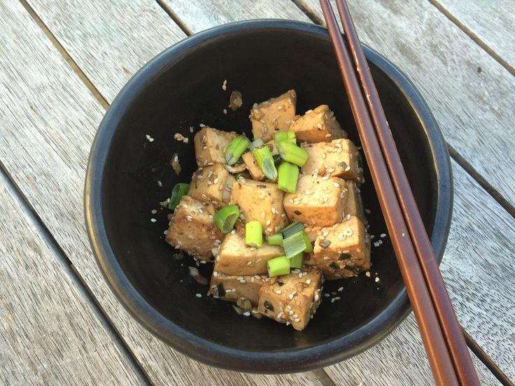 Sesame tofu #tofu