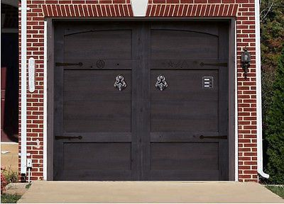 3D EFFECT GARAGE DOOR BILLBOARD COVER DRAKULA HOME HALLOWEEN 8,04 x 6,89 FEET