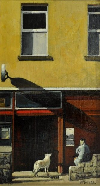 Joe McIntyre Noon Time Waiting, Lochee | Scottish Contemporary Art