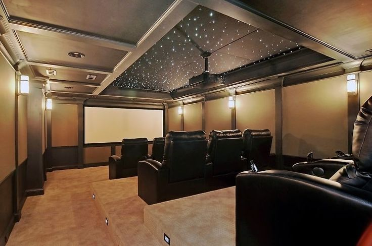 What A Beautiful Home Theater Click On The Picture To See
