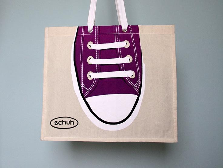 Não canso de achar legal os designs de sacolas criativas