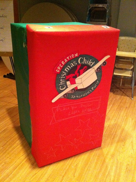 Pack a Shoebox! Give a child a Christmas present this year that's never gotten one before!