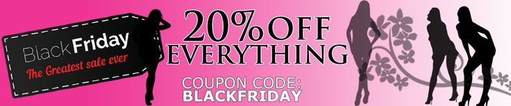 Its BLACK FRIDAY! Don't forget to shop until you drop at Sex Toy Shop SA!  Coupon Code: BLACKFRIDAY
