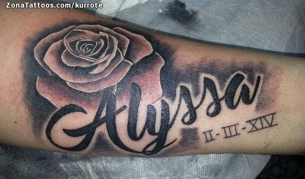 Tatuaje De Letras Nombres Rosas Zonatattoos Com Letras Para Tatuajes Tatuajes Tatuaje Rosa Con Nombre