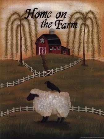 Home on the Farm by Lisa Kennedy art print