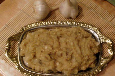 Баба Гануш (овощная закуска)