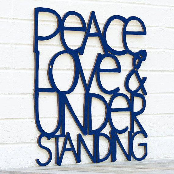 Peace+Love+&+Understanding+Elvis+Costello+lyric+by+spunkyfluff,+$75.00