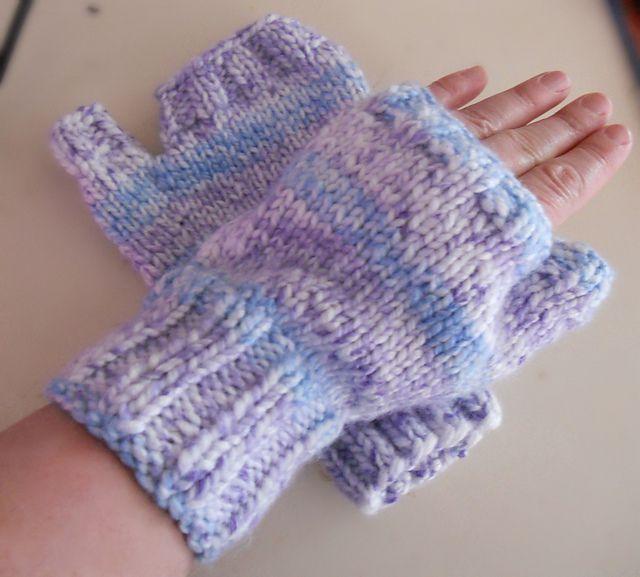Gloves Knitting Pattern Pinterest : Ravelry: Two Hour Fingerless Gloves pattern by Onix Terevinto Sometimes I k...