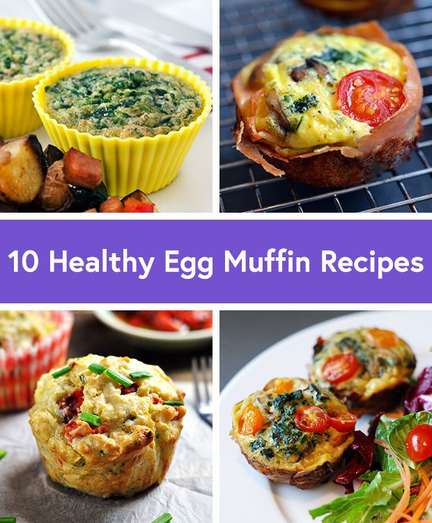 10 Healthy Ways to Get on the New Egg Muffins Trend