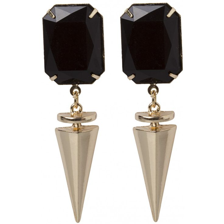 Stone And Spike Earring - colette by colette hayman
