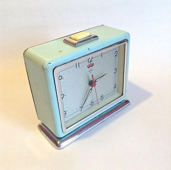Baby blue alarm clock £9.70
