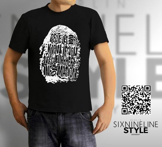 Fingerprint DNA T-Shirt http://www.spreadshirt.de/fingerprint-dna-white-C4408A20786786