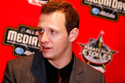 that black eye looking good Spezza