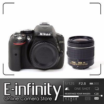 Nikon D5300 Digital SLR Camera +18-55mm por 399,99 €  Aproveche su increíble rendimiento en condiciones de poca luz para tomar imágenes detalladas en situaciones de oscuridad y capturar fotos nítidas de sujetos en rápido movimiento.   #camara #compras #Ebay #regalos