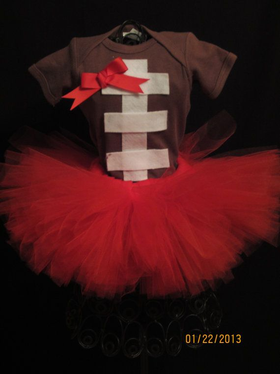 Football Tutu Outfit on Etsy, $26.00 this is too cute!