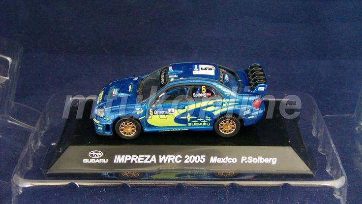 CM S RALLY CAR COLLECTION | SS4 | SUBARU IMPREZA WRC 2005 MEXICO | SOLBERG |1/64
