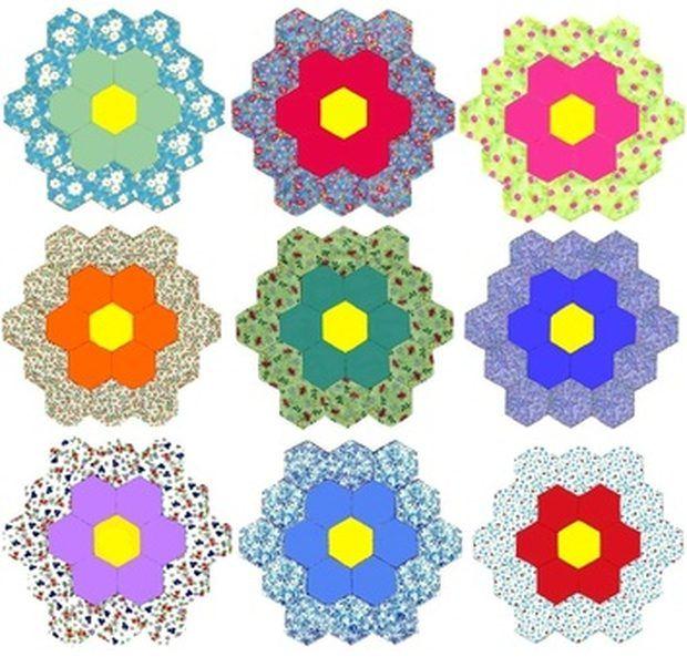 Dicas para costurar colchas com desenho de hexágonos