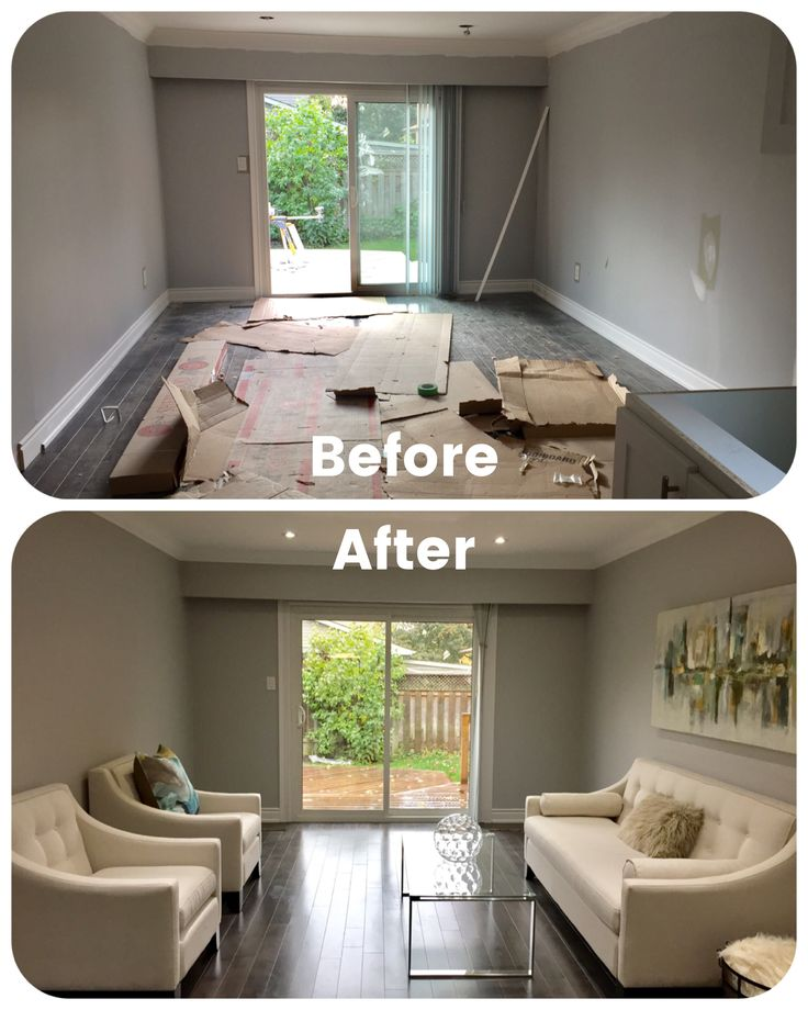 13 best home staging before and after photos images on for Before and after home staging