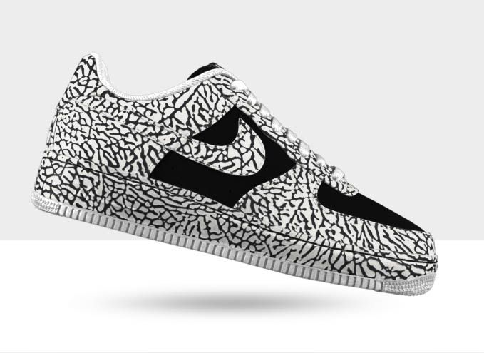 Nike Air Force 1 Premium iD - Elephant Print Options | KicksOnFire