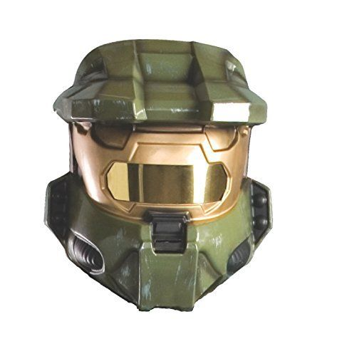 Rubie's Costume Co Halo Master Chief 1/2 Vacuform Mask, Green, One Size, http://www.amazon.ca/dp/B001E6F3R4/ref=cm_sw_r_pi_awdl_u-c.vbAAKM3FH