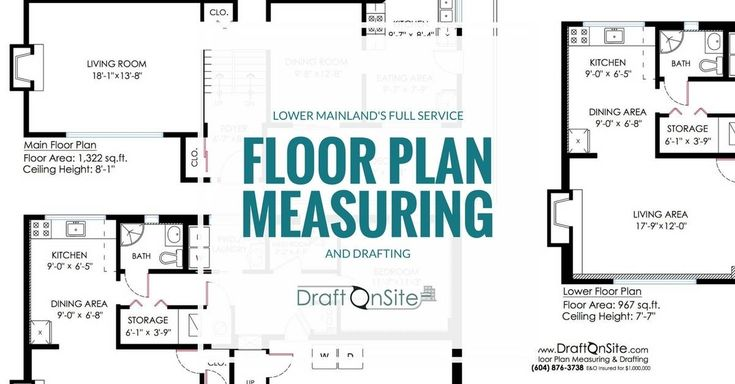 Full-service Vancouver floor plan measuring and drafting