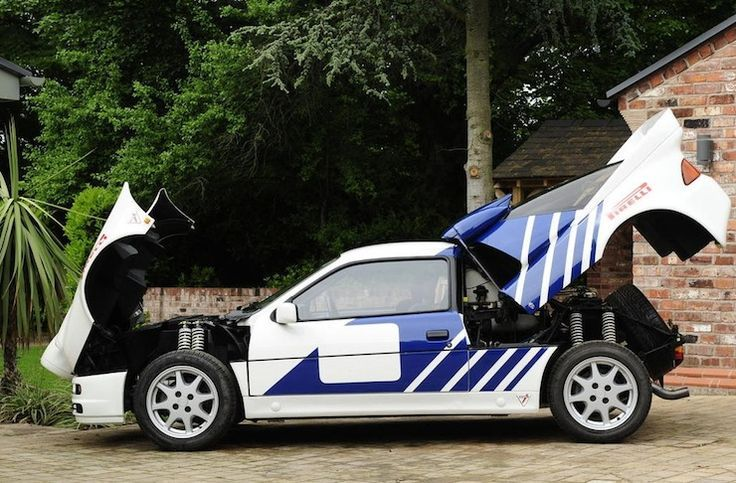 The 1984 86 Ford Rs200 Ford Motorsport Ford Classic Cars Ford