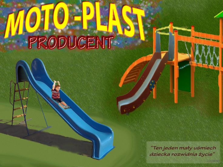 zjeżdżalnie poliestrowe ,zjeżdżalnie dla dzieci i dorosłych, zjeżdżalnie ogrodowe i na place zabaw -producent MOTO-PLAST W. ŻÓŁTOWSKI