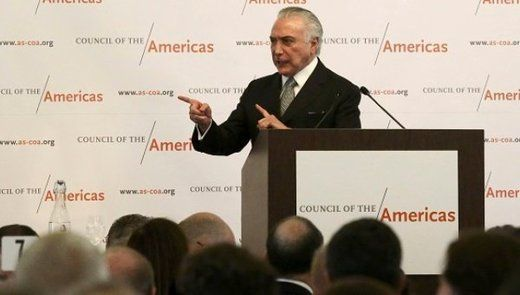 teleSUR Fri, 23 Sep 2016 13:56 UTC  © Reuters Brazilian President Michel Temer addresses attendees at a luncheon hosted by the Council of the Americas in Manhattan, New York, U.S., September 21, 2… NEOLIBERALISM IS A SMOKE SCREEN FOR WORLD DOMINATION BY THE ILLUMINATI ( aka USA AND ALLIES ) https://winstonclose.me/2016/09/26/brazilian-president-temer-admits-rousseff-ousted-over-her-opposition-to-neoliberalism-by-telesur/