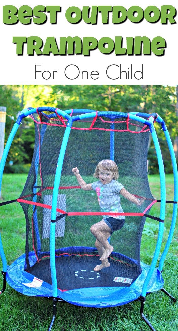 The Best Outdoor Trampoline For One Child