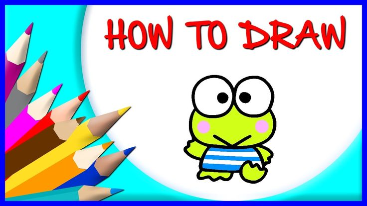 How to Draw Keroppi | Drawing Time Lapse | 853672 HTD