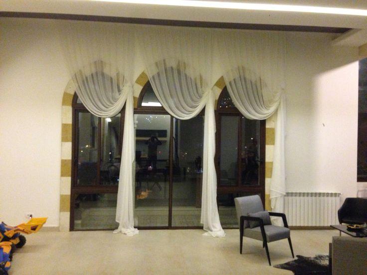 English curtain design