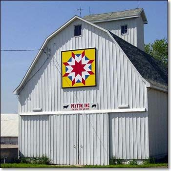 spotting barn quilts on the drive from KY to GA makes me happy