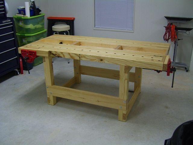 Kyle's Laminated Veneer Lumber (Like Megan's) Workbench - The Wood Whisperer