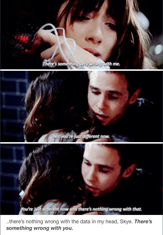 Aftershocks. I was so annoyed at him after his outburst and then he did this....and turned out to be the most understanding.....he was just processing or something....and did I mention Leo Fitz is amazing!