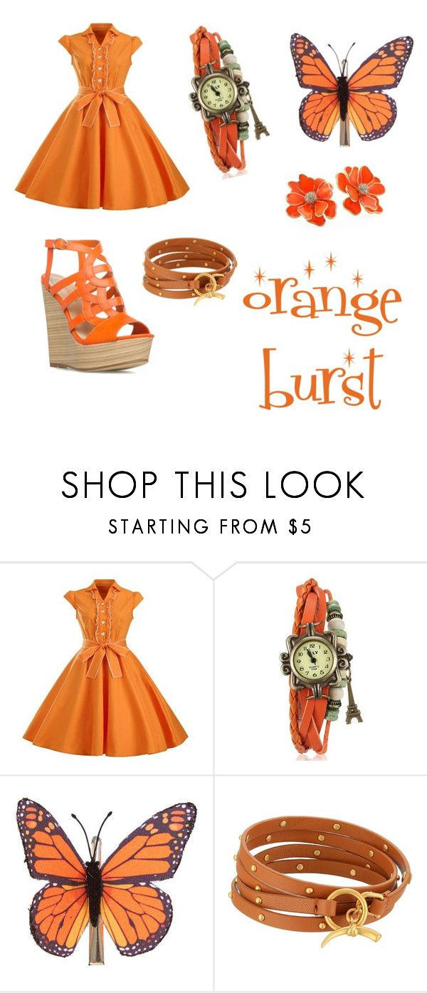 """""""Untitled #55"""" by ziadvil on Polyvore featuring claire's, Tory Burch and Kenneth Jay Lane"""