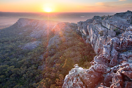 One of my most favorite places in the world.  Grampians, Victoria Australia.  Spent many a night camping there...